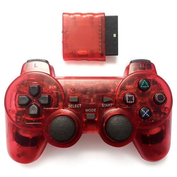 Wireless Controller Joypad for PS2 Game Console - 1bigshop