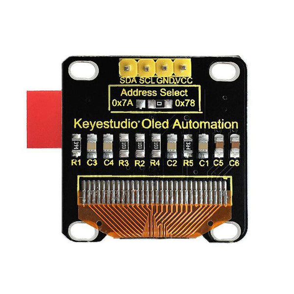 Keyestudio 0.96 inch 128 x 64 Pixels OLED Display Module for Arduino - 1bigshop