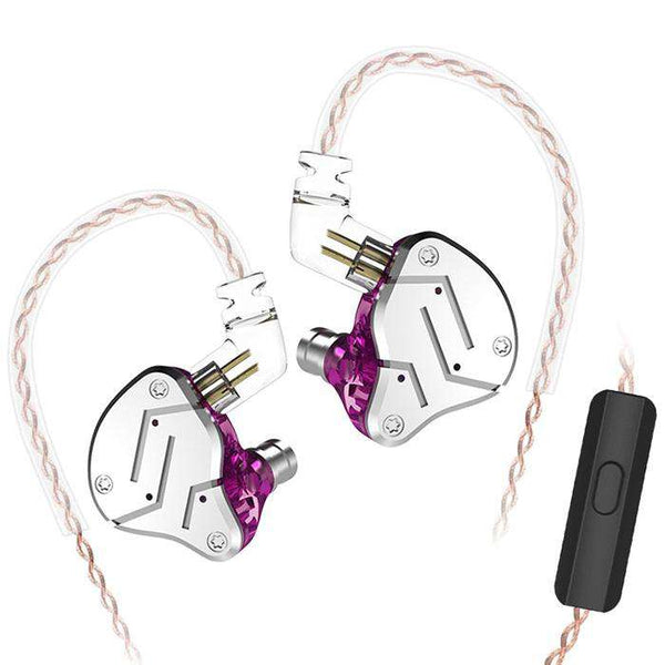 KZ ZSN Wired Noise-canceling In Ear Earphones - 1bigshop