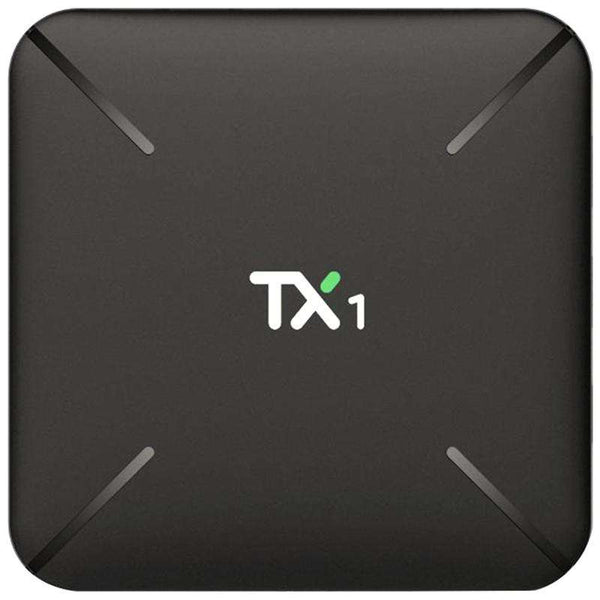 TX1 TV Box Android 7.1 Allwinner H3 1GB DDR3 + 8GB EMMC 2.4GHz Support 4K H.265 - 1bigshop