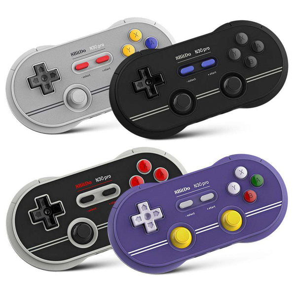 8Bitdo N30 Pro 2 Wireless Bluetooth Controller Gamepad with Joystick - 1bigshop