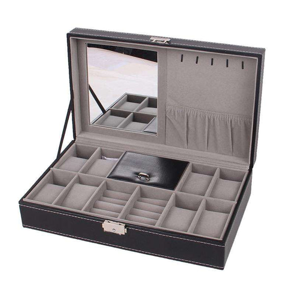 8 Watch Boutique Dressing Jewelry Box - 1bigshop