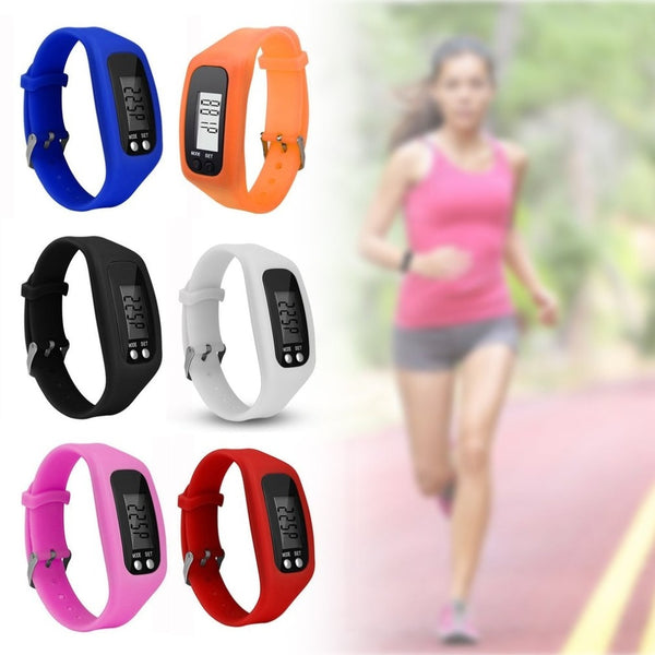 Smart Wristband Sport Wristband Health Watch Multifunction Smart Bracelet Pedometer Activity Tracker 5 Digit LED Display - 1bigshop