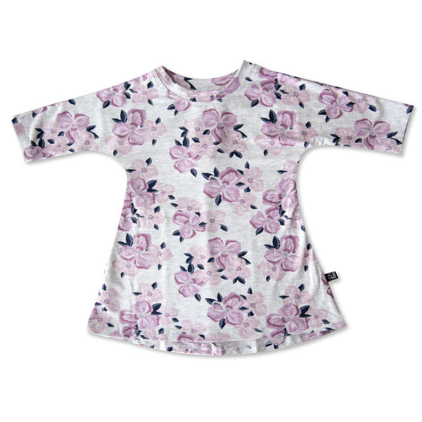 VONBON FLOWER BABY GIRL DRESS