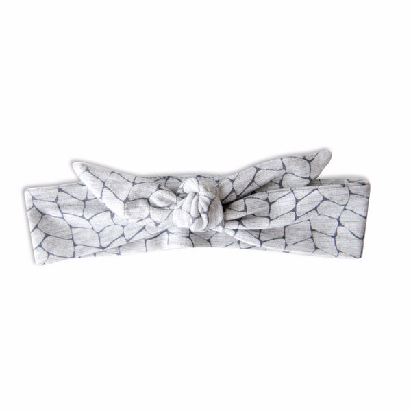 VONBON GRAY BAMBOO BABY GIRLS HEADBAND
