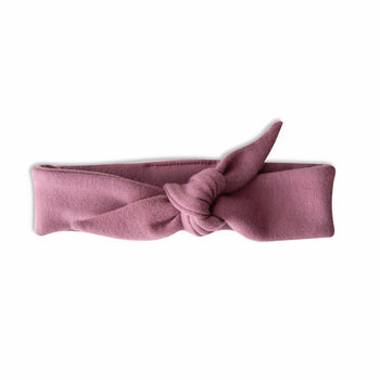 VONBON BABY GIRL BAMBOO HEADBAND JUNIPER PURPLE