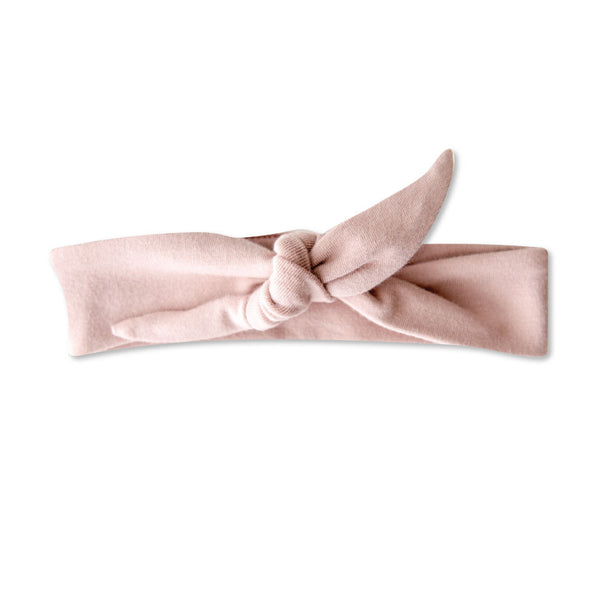vonbon pink baby girl knotted headband