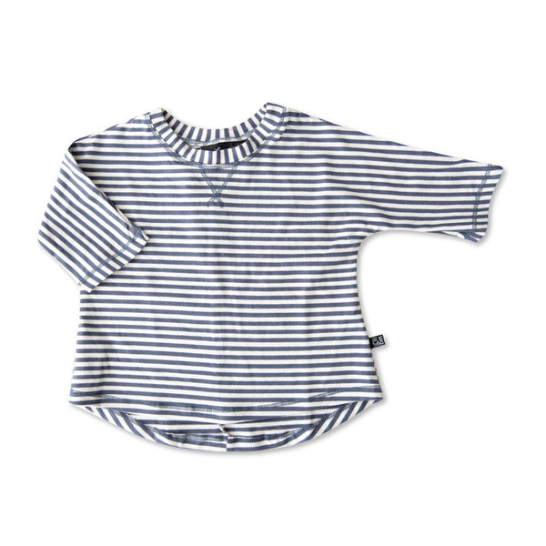 VONBON BABY BOY BLUE STRIPE SHIRT