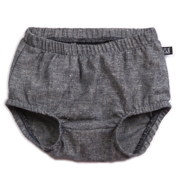 VONBON BABY BLOOMERS CHAMBRAY LINEN FABRIC