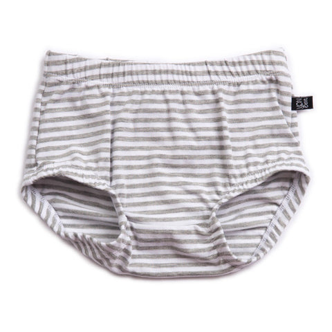 JERSEY BLOOMERS | GRAY STRIPE