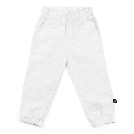 ELASTIC CUFF JOGGER | BEIGE CHAMBRAY