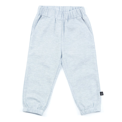 ELASTIC CUFF JOGGER | BLUE CHAMBRAY
