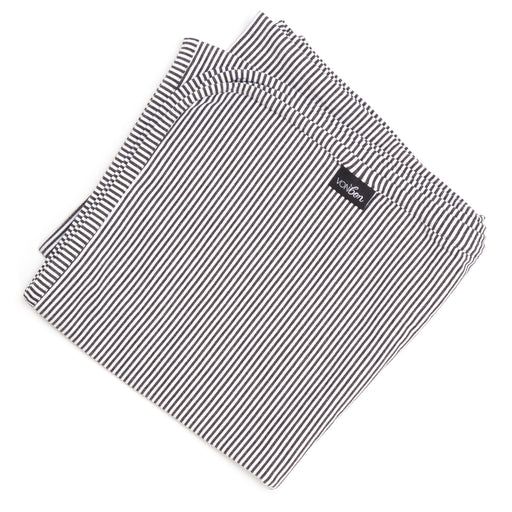 JERSEY BLANKET | STEEL STRIPE