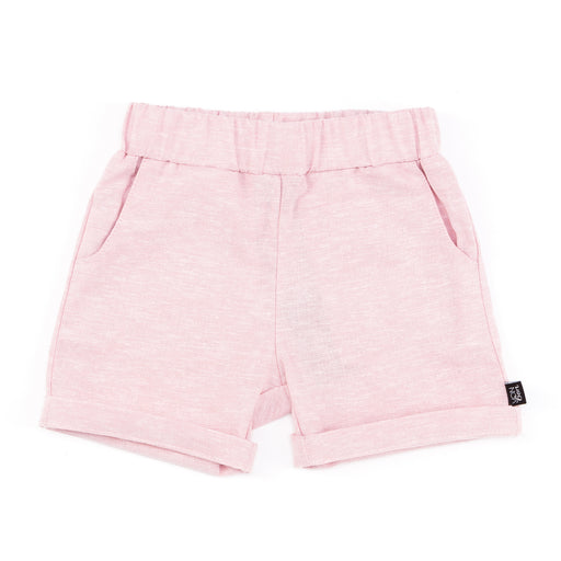 ROLLED CUFF SHORT | PINK CHAMBRAY