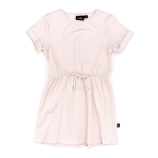 VONBON SHORT SLEEVE TSHIRT DRESS TEE STYLE GIRLS CLOTHES PEARL PINK