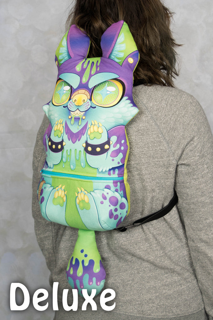 NEW Slime Dog Backpack