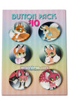 6 Button Set - Foxes