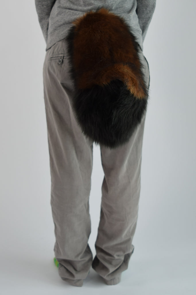 Brown Wolf Furry Ear & Tail Set