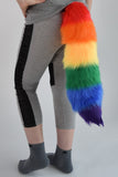 Luxury Standard Rainbow Furry Ear & Tail Set