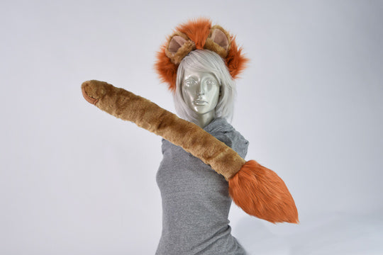 Maned Lion Ear & Tail Set