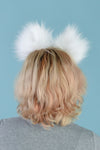 White Cat Furry Ear & Tail Set