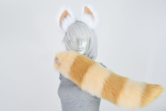 Red Panda Furry Ear & Tail Set - Recolor