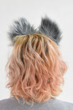 Luxury Gray Wolf Furry Ear & Tail Set- Solid