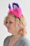 Luxury Cheshire Cat Furry Ear & Tail Set