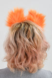 Small Luxury Orange Fox Furry Ear & Tail Set