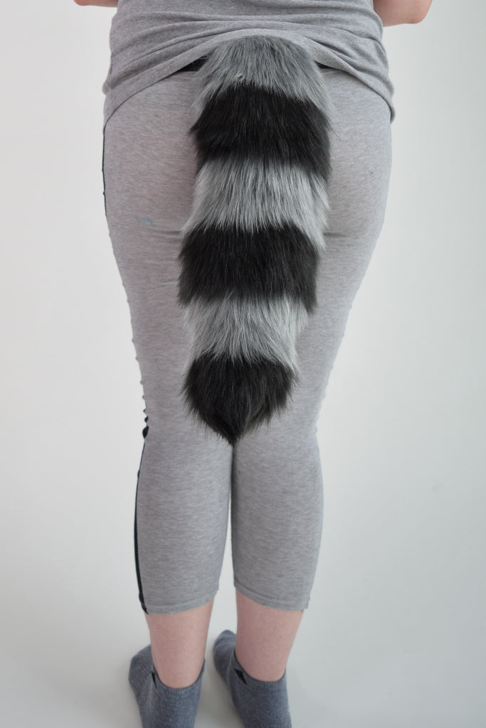 Raccoon Furry Ear & Tail Set - Small