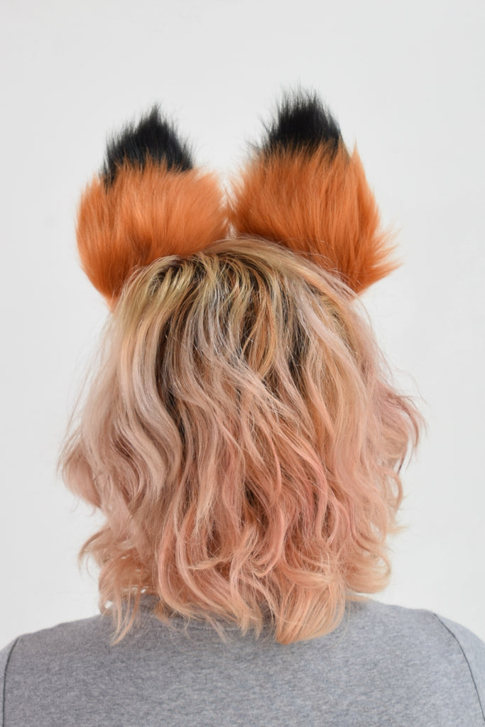 Best Fox Furry Ear & Tail Set - Rust