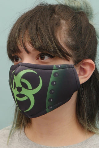 Bio-hazard Face Mask Green