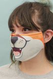 Orange Fox Mask