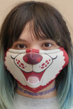 Red Husky Face Mask