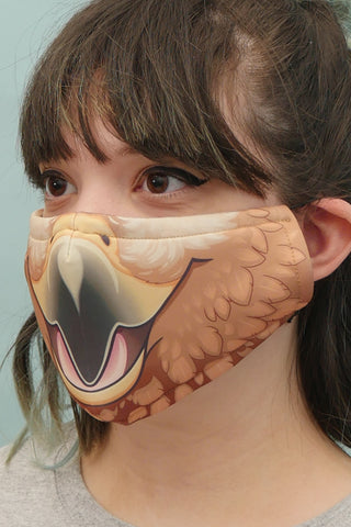 Hawk Face Mask