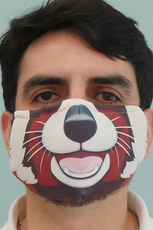 Red Panda Face Mask