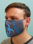 Bio-hazard Face Mask Blue