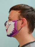 Purple Husky Face Mask