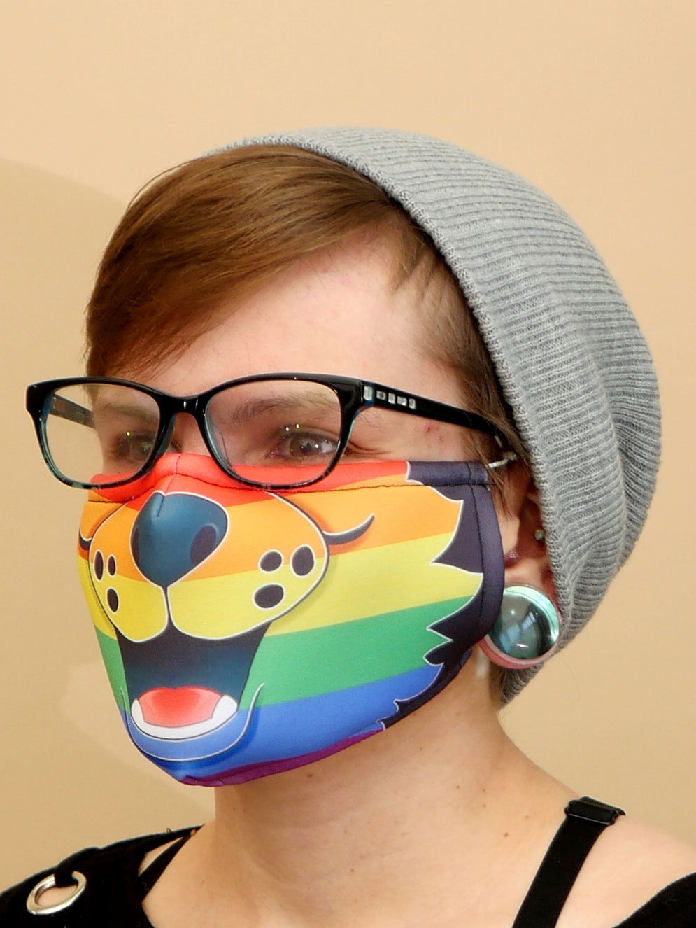 Pride Muzzle Cloth Mask 🏳‍🌈