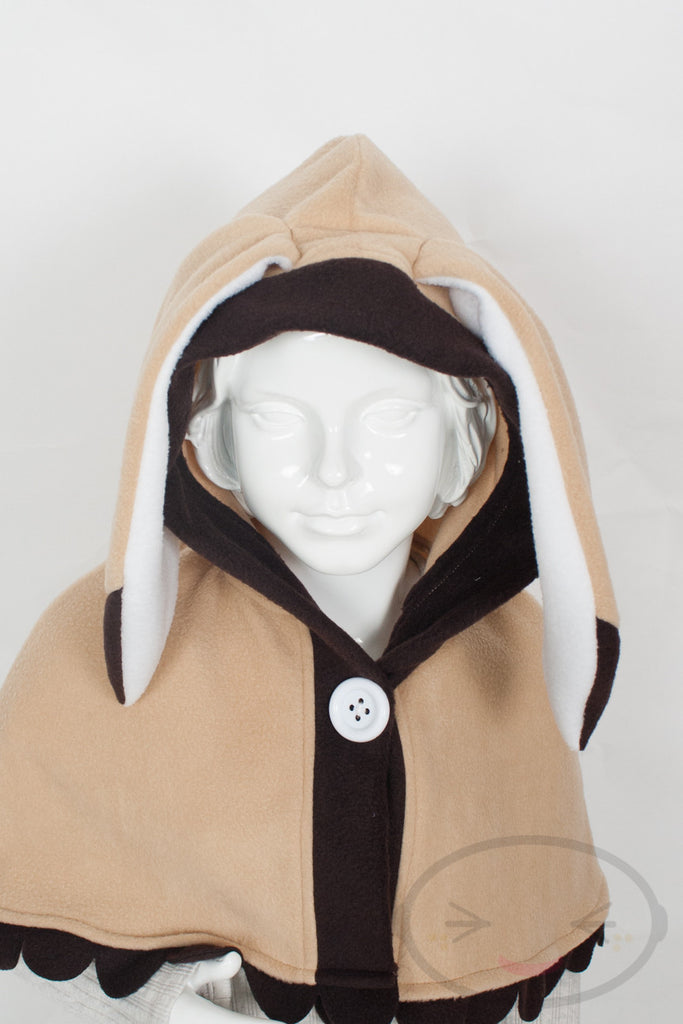 Kids Honey Bunny Capelet - Hood and Tail