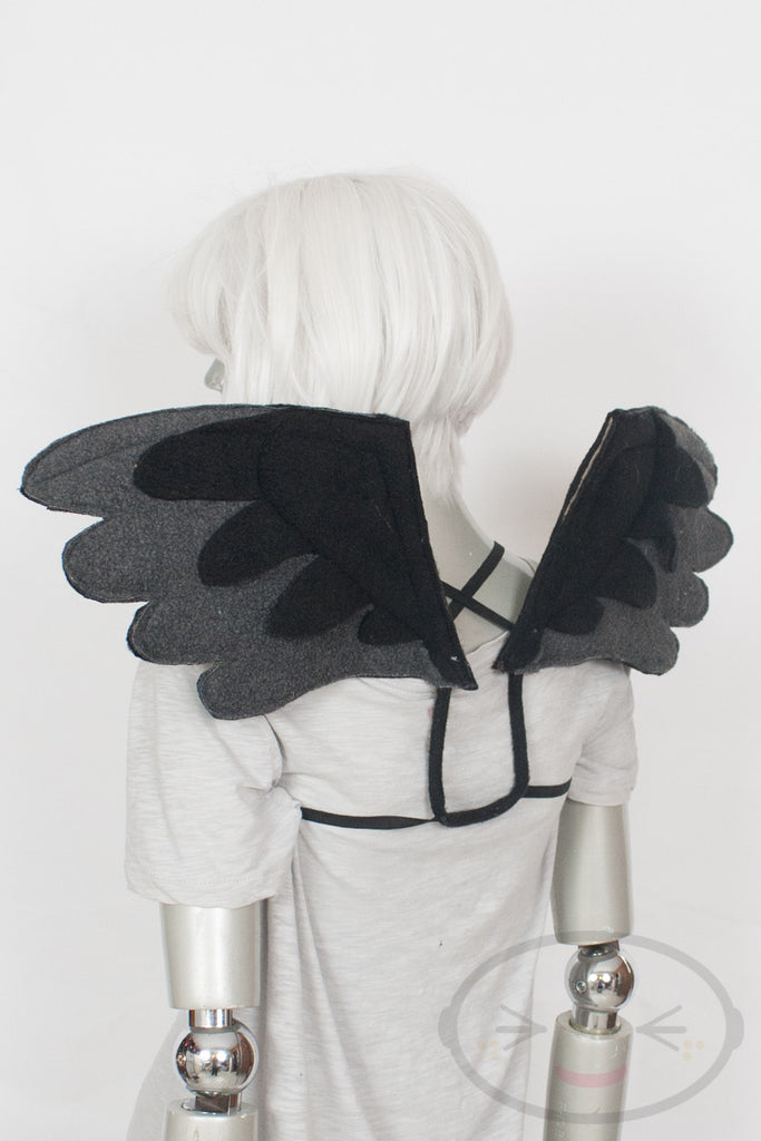 Standard Black Angel Wings