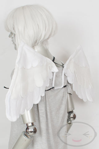 Large White Feather Wings