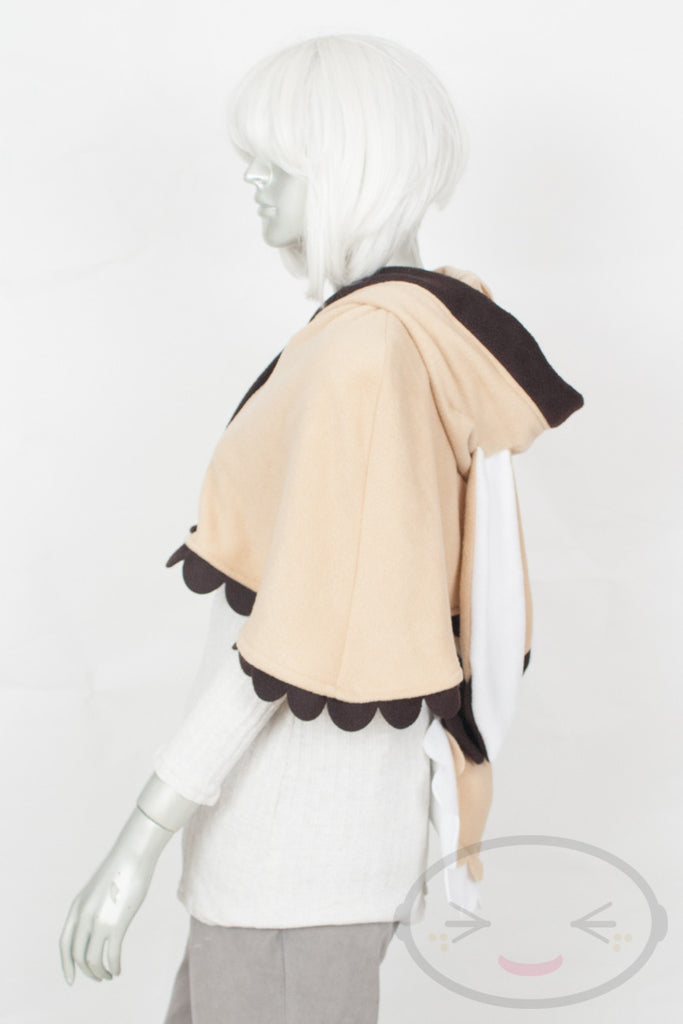 Honey Bunny Capelet - Hood and Tail