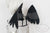 Large Black Feather Wings