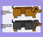 Wiener Dog Scarf