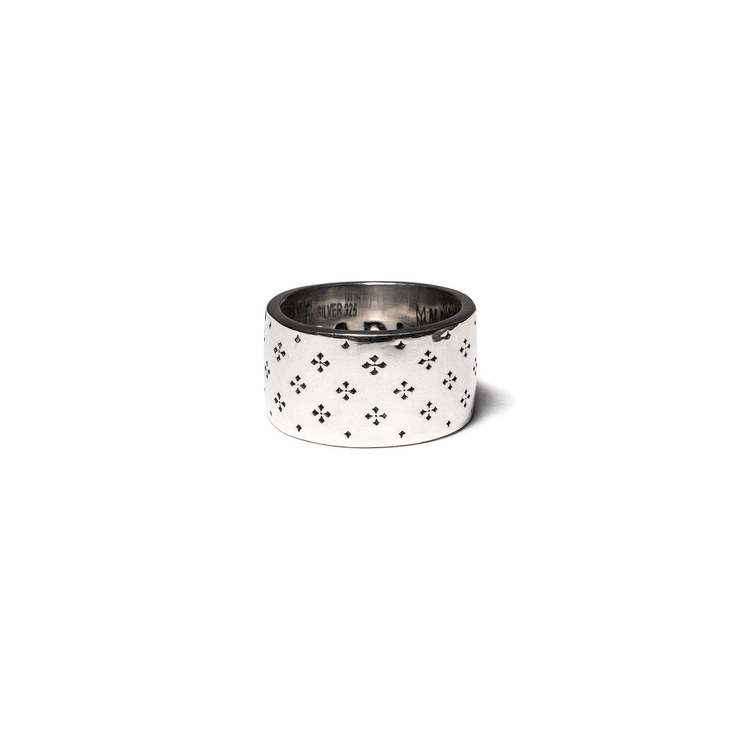MAPLE Co. Iron Cross Ring