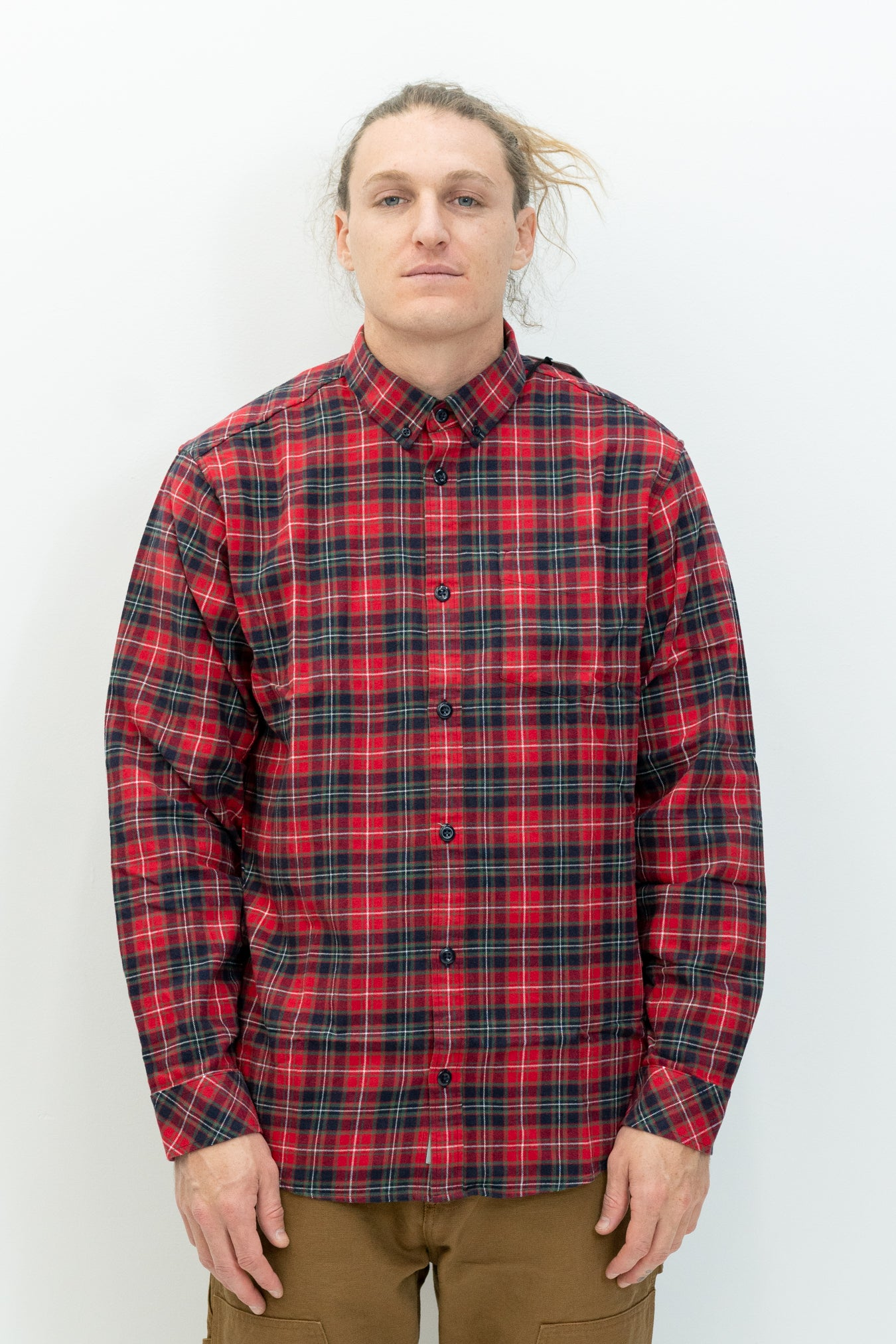 L/S Huffman Shirt in Rocket