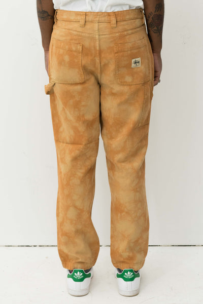 Dyed Work Pant in Brown