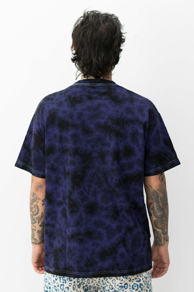 Aroma Crystal Dye Shirt in Purple