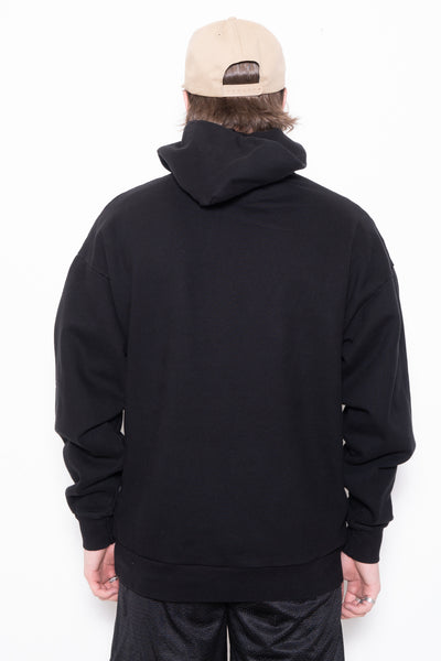 Skin Touch Nylon-TC_Packable Bomber in Black